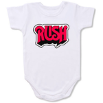Rush Music Band Logo Baby onesie,Bodysuit,Baby creepers,Baby jumper,Baby one piece,Baby onesies,T shirt ,Band Tee
