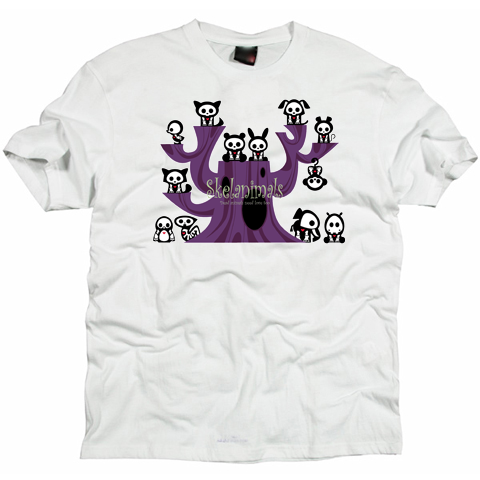 Skelanimals cartoon  T -shirt