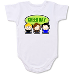 The Green Day Music Band Logo Baby onesie,Bodysuit,Baby creepers,Baby jumper,Baby one piece,Baby onesies,T shirt ,Band Tee