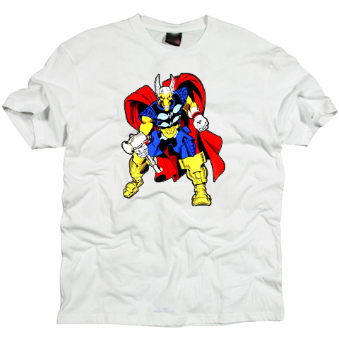 Thor Beta Ray Bill cartoon  Tshirt