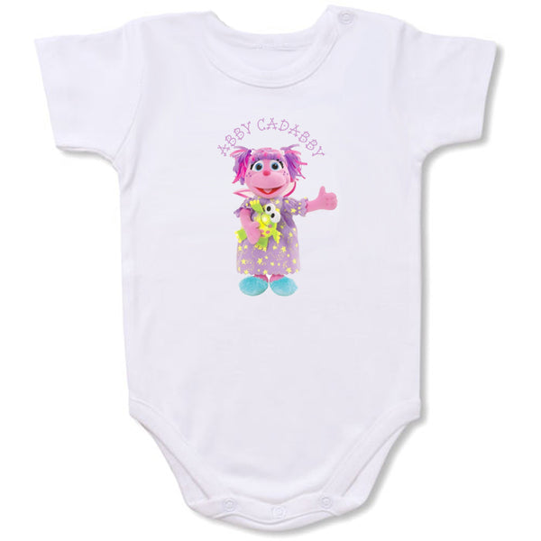 Abby Cadabby Cartoon Baby creepers,Baby jumper,Baby one piece,Baby onesies,T shirt ,Comics Tee,Funny T shirt