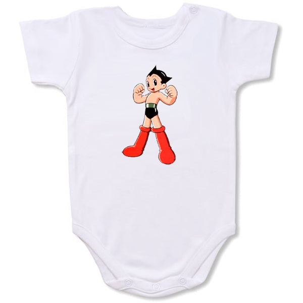 Astroboy Cartoon Baby creepers,Baby jumper,Baby one piece,Baby onesies,T shirt ,Comics Tee,Funny T shirt