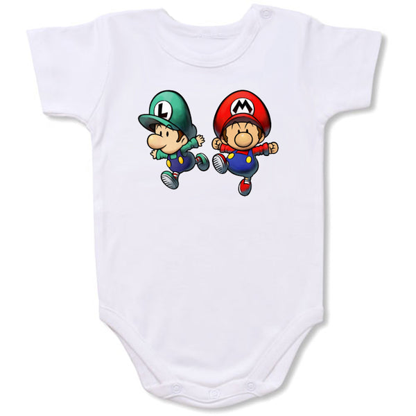 Baby Super Mario Cartoon Baby creepers,Baby jumper,Baby one piece,Baby onesies,T shirt ,Comics Tee,Funny T shirt Cartoon Baby creepers,Baby jumper,Baby