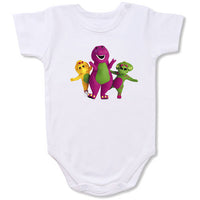Barney  onesie  Cartoon Baby creepers,Baby jumper,Baby one piece,Baby onesies,T shirt ,Comics Tee,Funny T shirt Cartoon Baby creepers,Baby jumper,Baby one piece,Baby onesies,T shirt