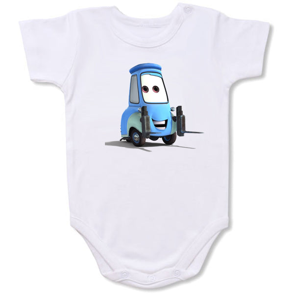 Disneycars -Guido Cartoon Baby creepers,Baby jumper,Baby one piece,Baby onesies,T shirt ,Comics Tee,Funny T shirt Cartoon Baby creepers,Baby jumper