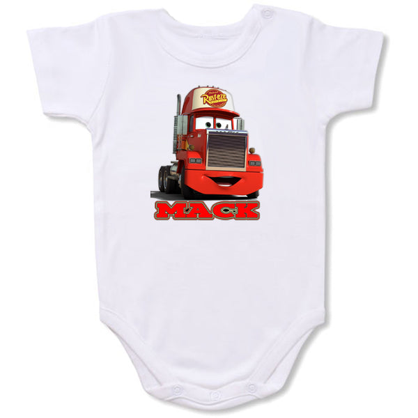 Disneycars Mack-a Cartoon Baby creepers,Baby jumper,Baby one piece,Baby onesies,T shirt ,Comics Tee,Funny T shirt Cartoon Baby creepers,Baby jumper