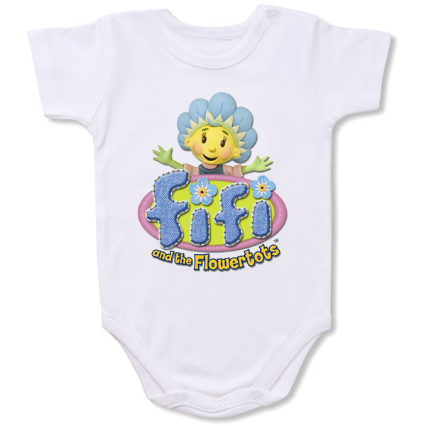 Fifi and the Flowertots onesie  Cartoon Baby creepers,Baby jumper,Baby one piece,Baby onesies,T shirt ,Comics Tee,Funny T shirt Cartoon Baby creepers,Baby jumper