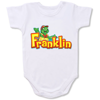 Franklin the turtle Cartoon Baby creepers,Baby jumper,Baby one piece,Baby onesies,T shirt ,Comics Tee,Funny T shirt Cartoon Baby creepers,Baby jumper