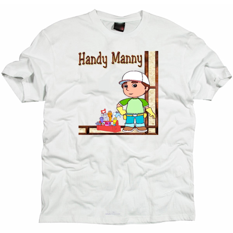 Handy manny funny   T-shirt