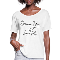Celine Dion,Because You Loved Me,Music Inspired tee,Las Vegas Trip Shirt,Music Flowy T-Shirt - imagineshops