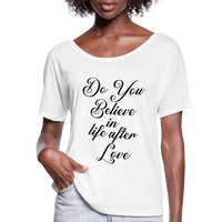 Cher,Do You Believe in, Life After Love,Inspired  Las Vegas Trip,Music Flowy T-Shirt - white