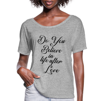 Cher,Do You Believe in, Life After Love,Inspired  Las Vegas Trip,Music Flowy T-Shirt - heather gray