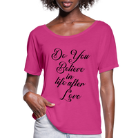 Cher,Do You Believe in, Life After Love,Inspired  Las Vegas Trip,Music Flowy T-Shirt - dark pink