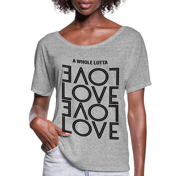 Led Zeppelin,Whole Lotta Love Shirt,Girls Romantic Shirt,Music Flowy T-Shirt - imagineshops