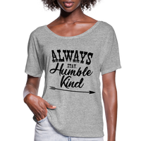 Tim McGraw, Always Stay Humble & Kind,Country Music Flowy T-Shirt - heather gray