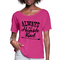 Tim McGraw, Always Stay Humble & Kind,Country Music Flowy T-Shirt - dark pink