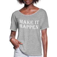 Make it Happen Shirt,Super Soft Unisex Short Sleeve T-Shirt - heather gray