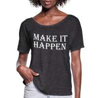 Make it Happen Shirt,Super Soft Unisex Short Sleeve T-Shirt - charcoal gray