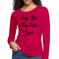 Queen,Crazy Little Thing Called Love Shirt,Band Shirts,Music Inspired tee,Women's Premium Long Sleeve T-Shirt - imagineshops
