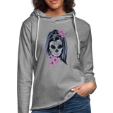 Halloween Mask Unisex Lightweight Terry Hoodie - imagineshops