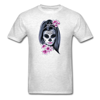 Halloween Mask Unisex Classic T-Shirt - light heather gray