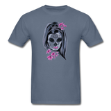 Halloween Mask Unisex Classic T-Shirt - denim