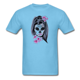 Halloween Mask Unisex Classic T-Shirt - aquatic blue