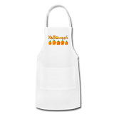 Halloween pumbkin Adjustable Apron - white