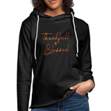 Thankful and Blessed Unisex Lightweight Terry Hoodie Unisex Lightweight Terry Hoodie - imagineshops