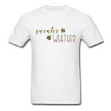 Sweater Weather  Unisex Classic T-Shirt - white