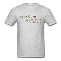 Sweater Weather  Unisex Classic T-Shirt - heather gray