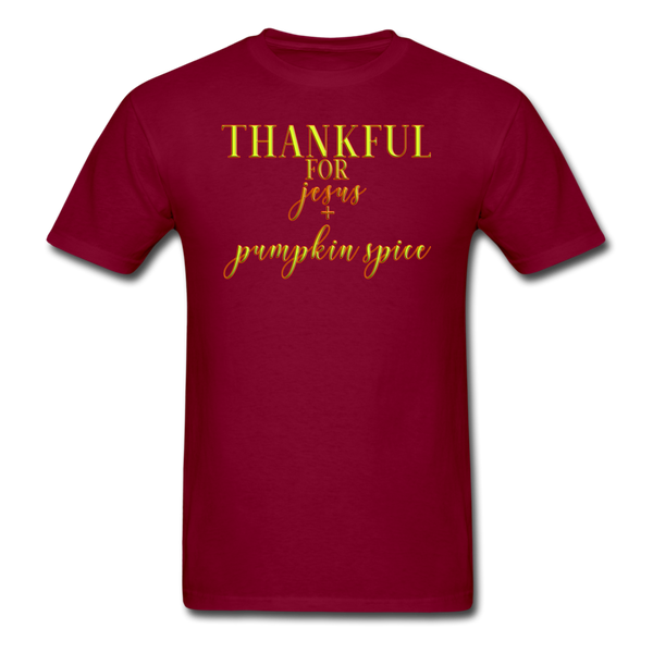 Thankful For Jesus and Pumpkin Spice Unisex Classic T-Shirt - imagineshops