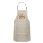 Happy Thanksgiving Day Adjustable Apron - natural