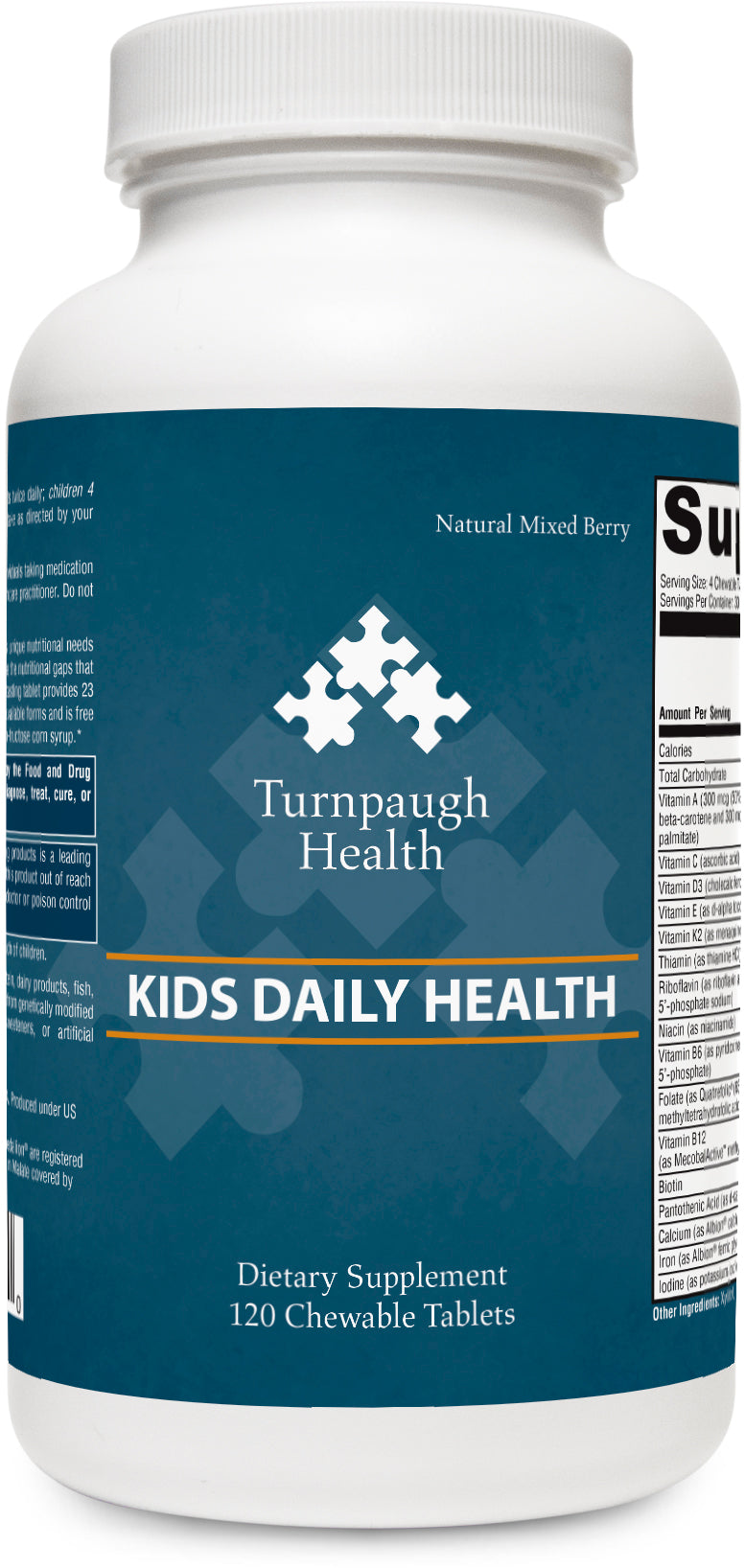 Kids Daily Health Chewable Vitamins 120 chewable tablets
