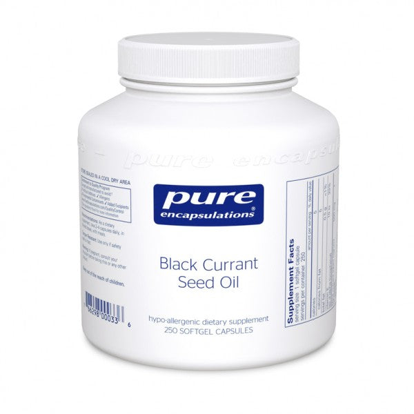 Black Currant Seed Oil 250 capsules