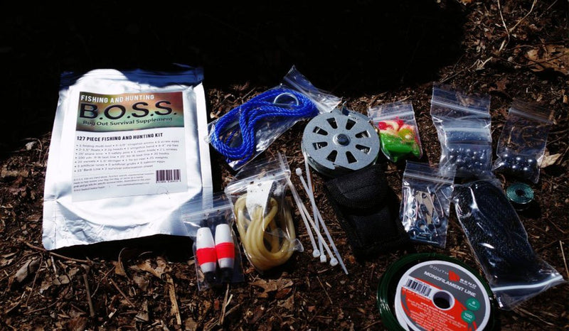 Bug Out Bag Survival Kit: Fishing And Hunting BOSS