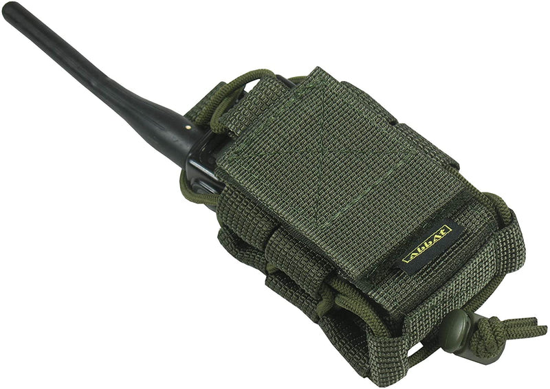 Tactical MOLLE Radio Pouch - Coyote Tan
