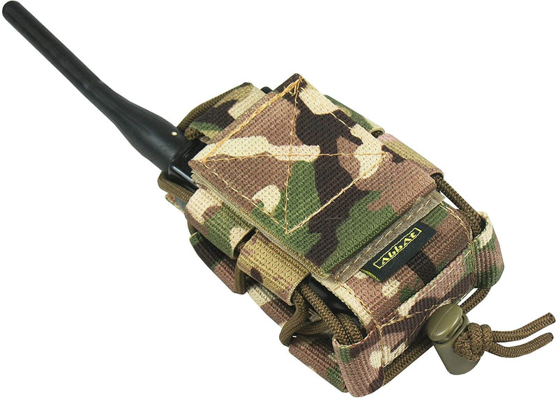 Tactical MOLLE Radio Pouch - Multicam