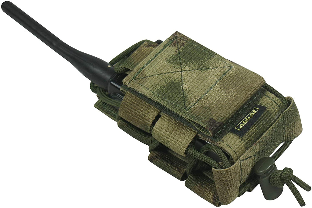 Tactical MOLLE Radio Pouch - ATACS FG