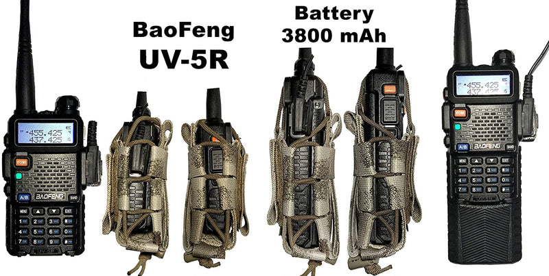 Tactical MOLLE Radio Pouch - ATACS AU