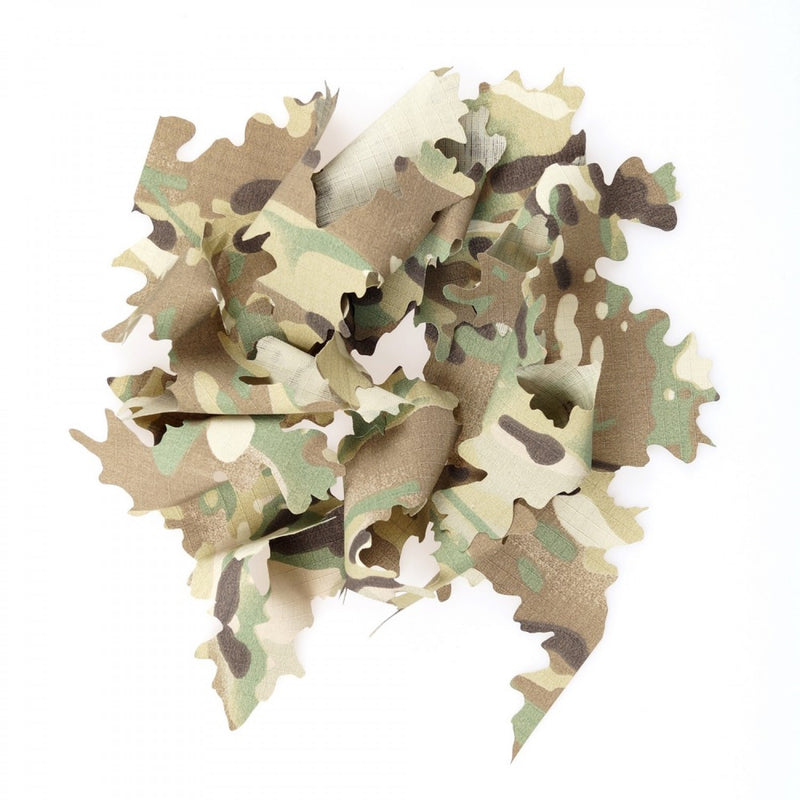 Laser Cut Camouflage Leaves