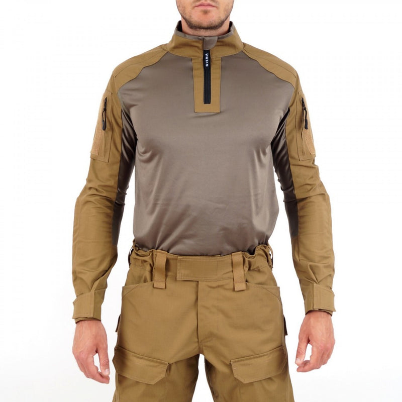 Raptor Combat Shirt -  GRAY STRETCH