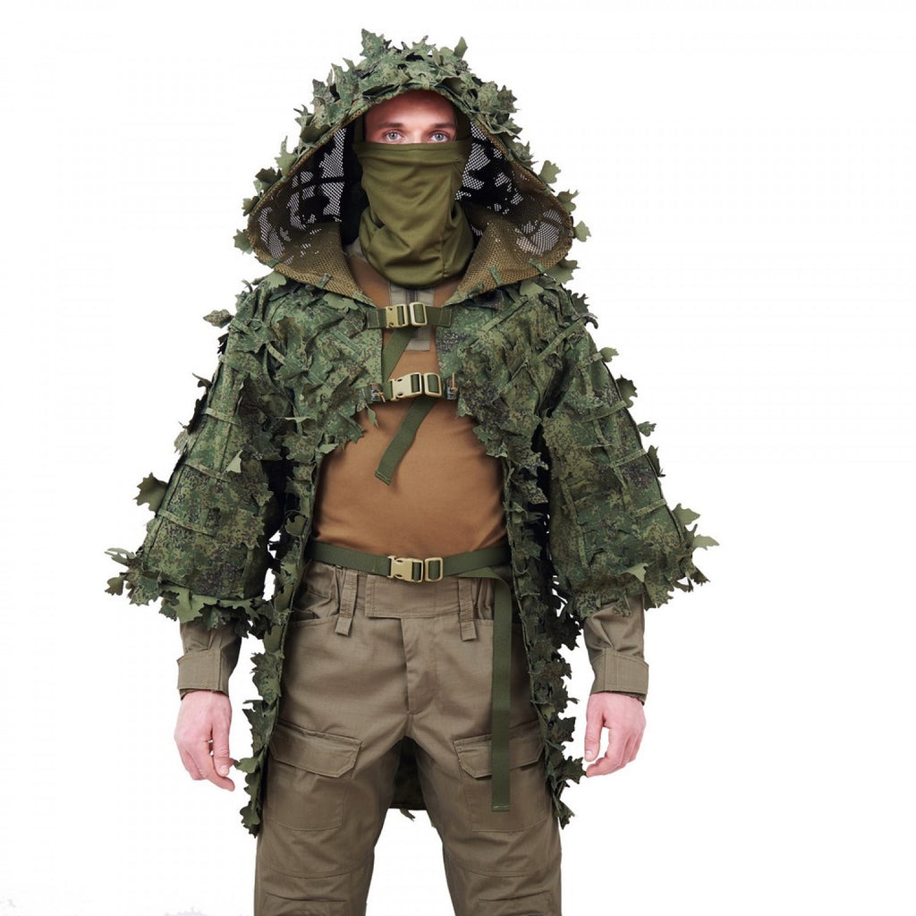 Alligator Sniper Coat (Ghillie Suit) - 3D EMR1