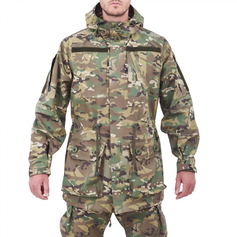 Tactical Camouflage Field Jacket - MULTICAM Pattern