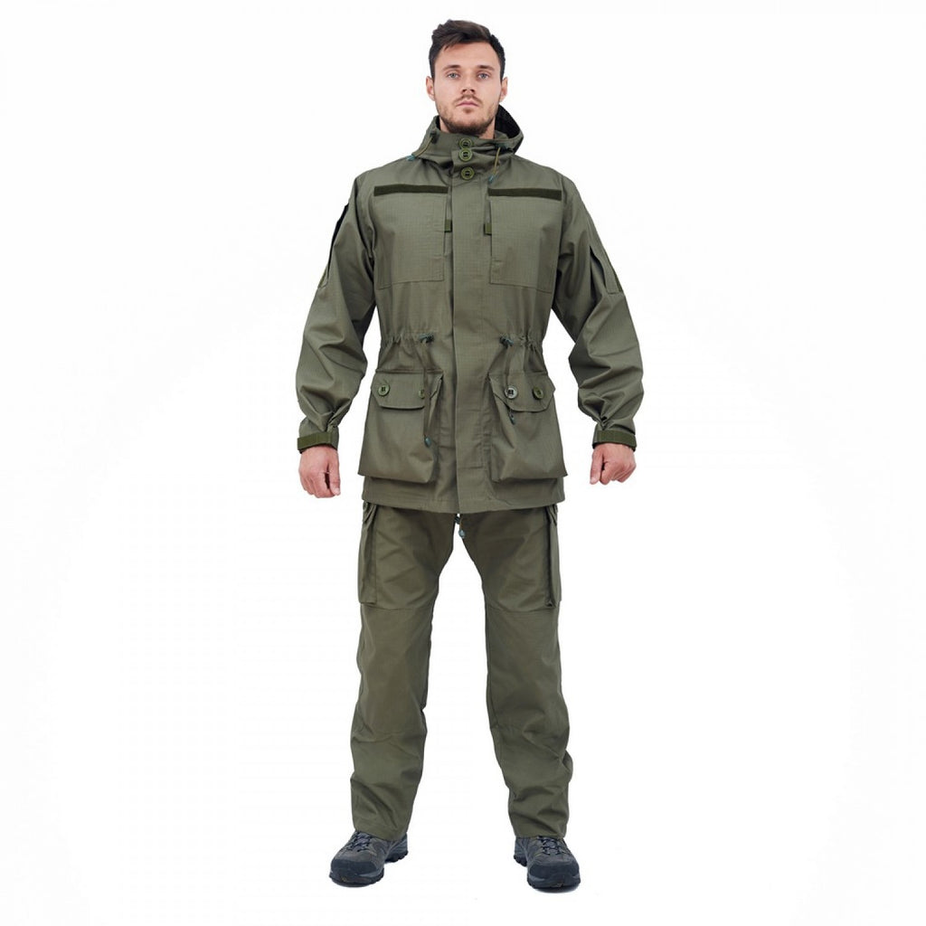 Tactical Camouflage Field Jacket - OLIVE Pattern