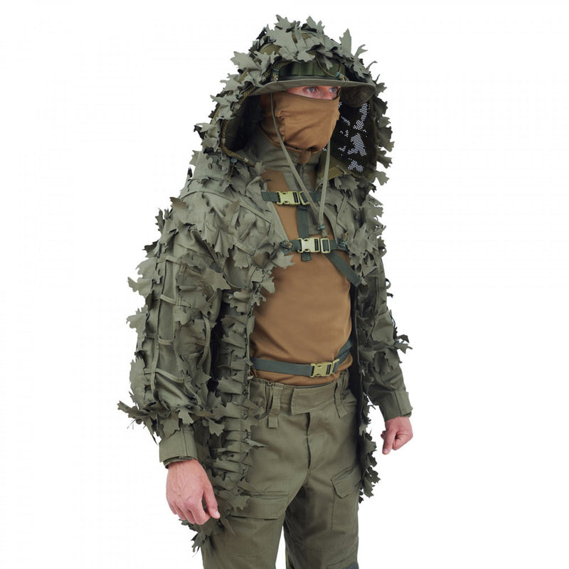 Alligator Sniper Coat - 3D OLIVE
