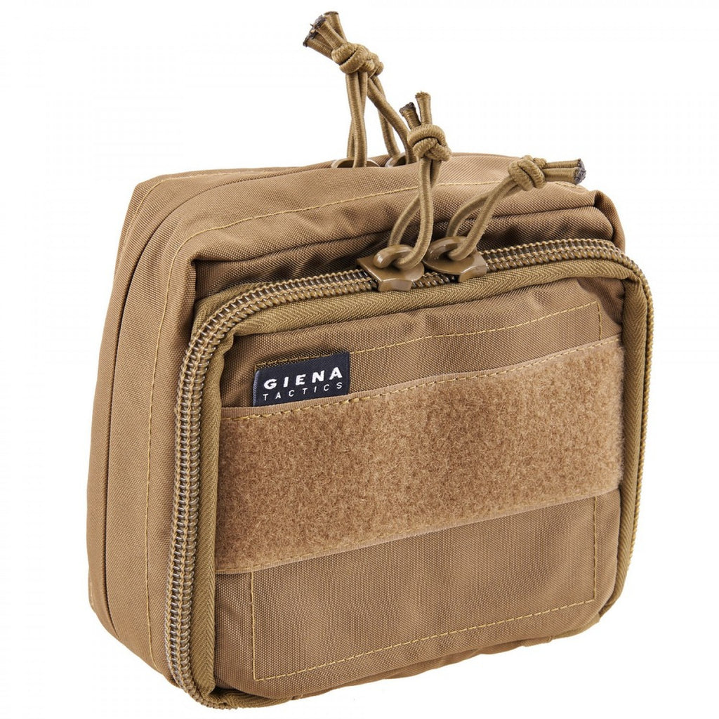 Tactical MOLLE Admin Pouch - Coyote Brown