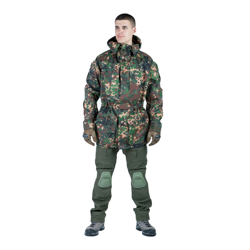 Tactical Camouflage Field Jacket - PARTIZAN (SS SUMMER)