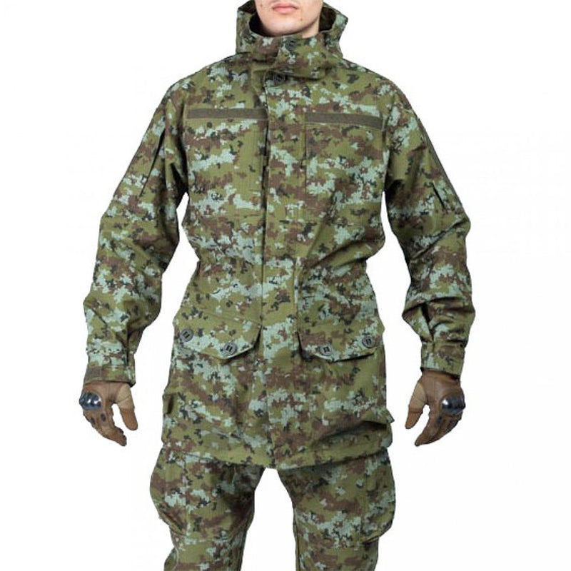 Arctic Fox Tactical Fleece Jacket - ATACS Camouflage