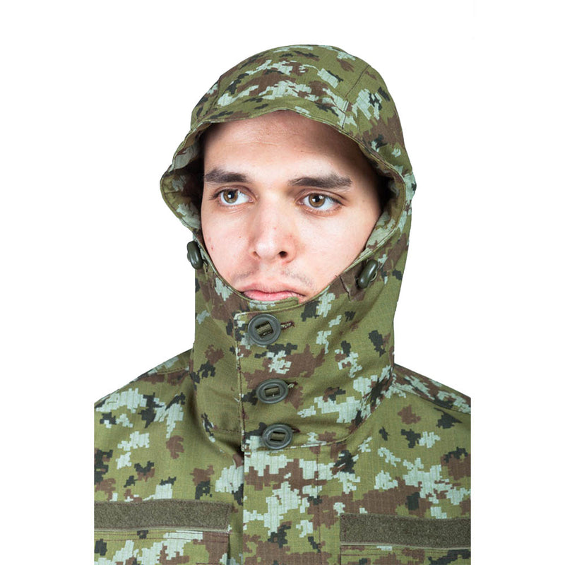 Tactical Camouflage Field Jacket - POGRANICHNIK Pattern